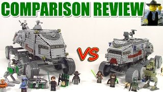 Lego Clone Turbo Tank 8098 Vs 75151 Review And Comparison