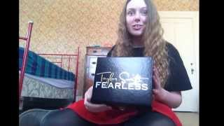 Unboxing Fearless box set!!!! (Finally)