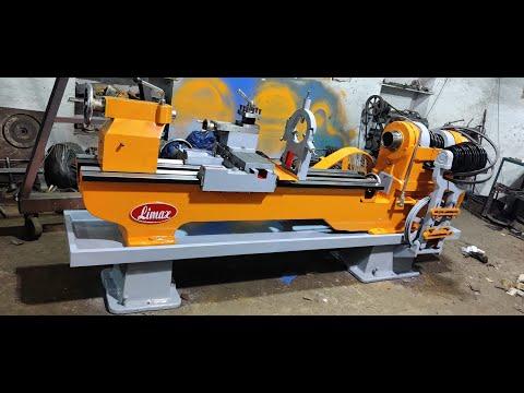 Limax LHD-9 Heavy Duty Lathe Machine