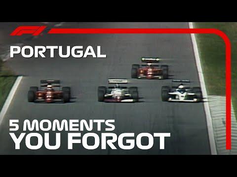 F1 ポルトガルGP 過去のポルトガルGPで忘れられない名場面を集めた動画