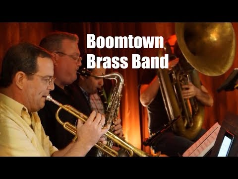 A video of a gig I did with the Boom Town Brass Band.