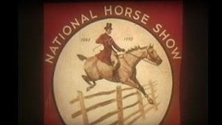 1959 National Horse Show Narrated By George Morris