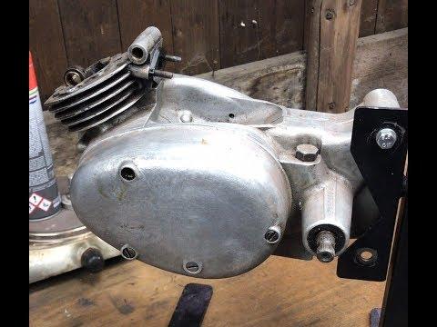 Simson SR2, Motor RH 50 (Pedal – Spatz) mit 2,3 PS, Teil #1, Zerlegung mit Überraschungen