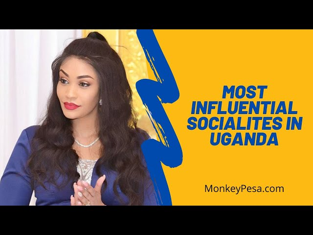 Most popular socialites in Uganda as of 2021