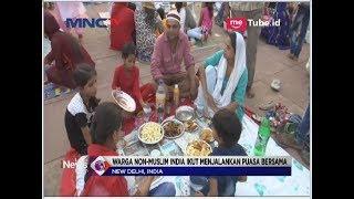 Saat Non-Muslim India Ikut Buka Puasa Di Masjid New Delhi - LIM 05/06