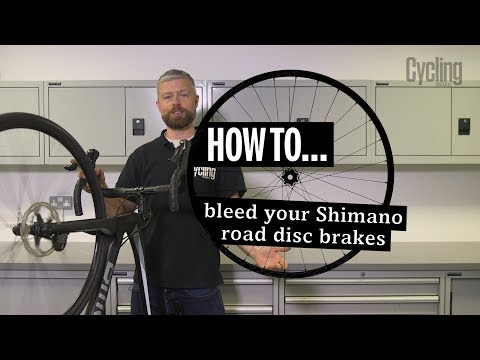 How to bleed your Shimano road disc brakes | Cycling Weekly