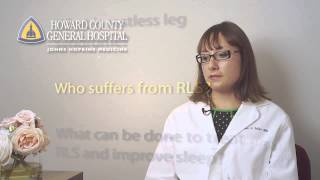 Restless Legs Syndrome and Sleep - Diagnosis and Treatments