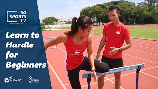 #Athletics101: Learn to hurdle for beginners [Athletics for Beginners]
