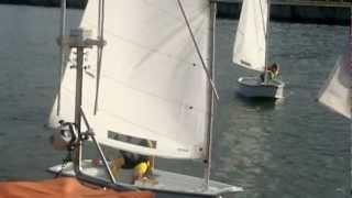 preview picture of video '2012-09-28- zajęcia optimist'