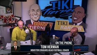 Tom Herman joins Tiki and Tierney