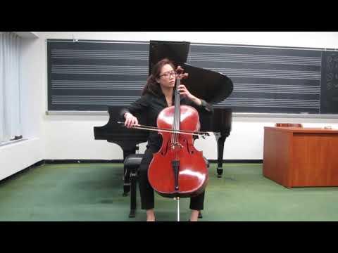 Bach Cello Suite No. 5, Prelude