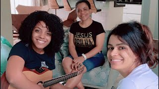 Kemilly Santos Na Casa Da Damares E Falam Sobre Novo álbum
