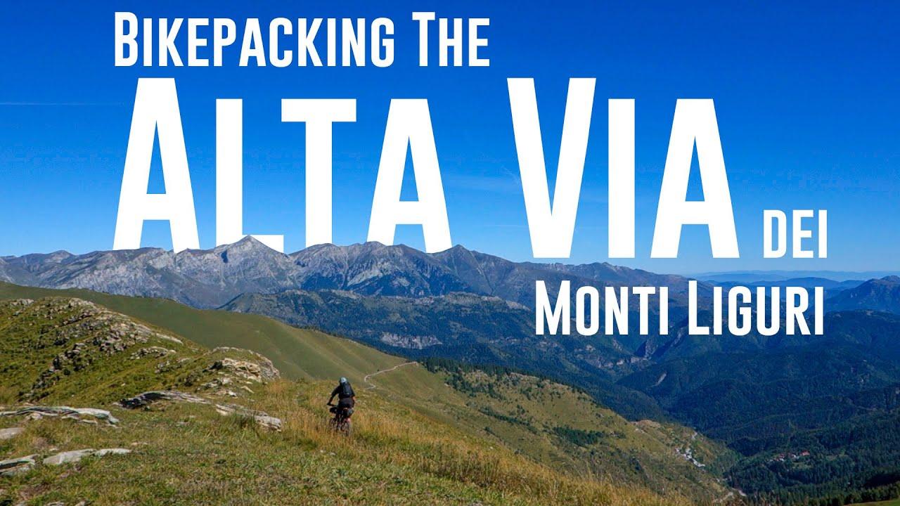 Bikepacking the Alta Via dei Monti Liguri