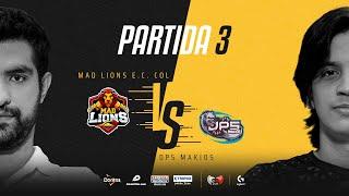 MAD Lions E.C. Colombia VS DP5 Makios | Cuartos de final | Golden League Clausura - Playoffs | Mapa 3