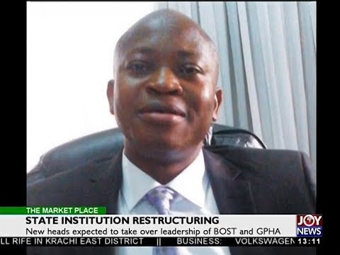 State Institution Restructuring - The Market Place on Joy News (7-6-18)