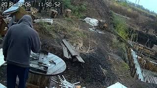 китайская камера видео наблюдения утро,день,вечер,ночь