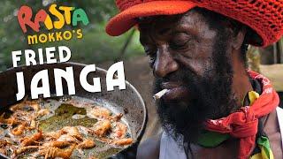 Fry out BADMIND….with some Janga aka River Shrimp!