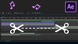 Gambar cover How Trim or Cut Out Audio in After Effects CC