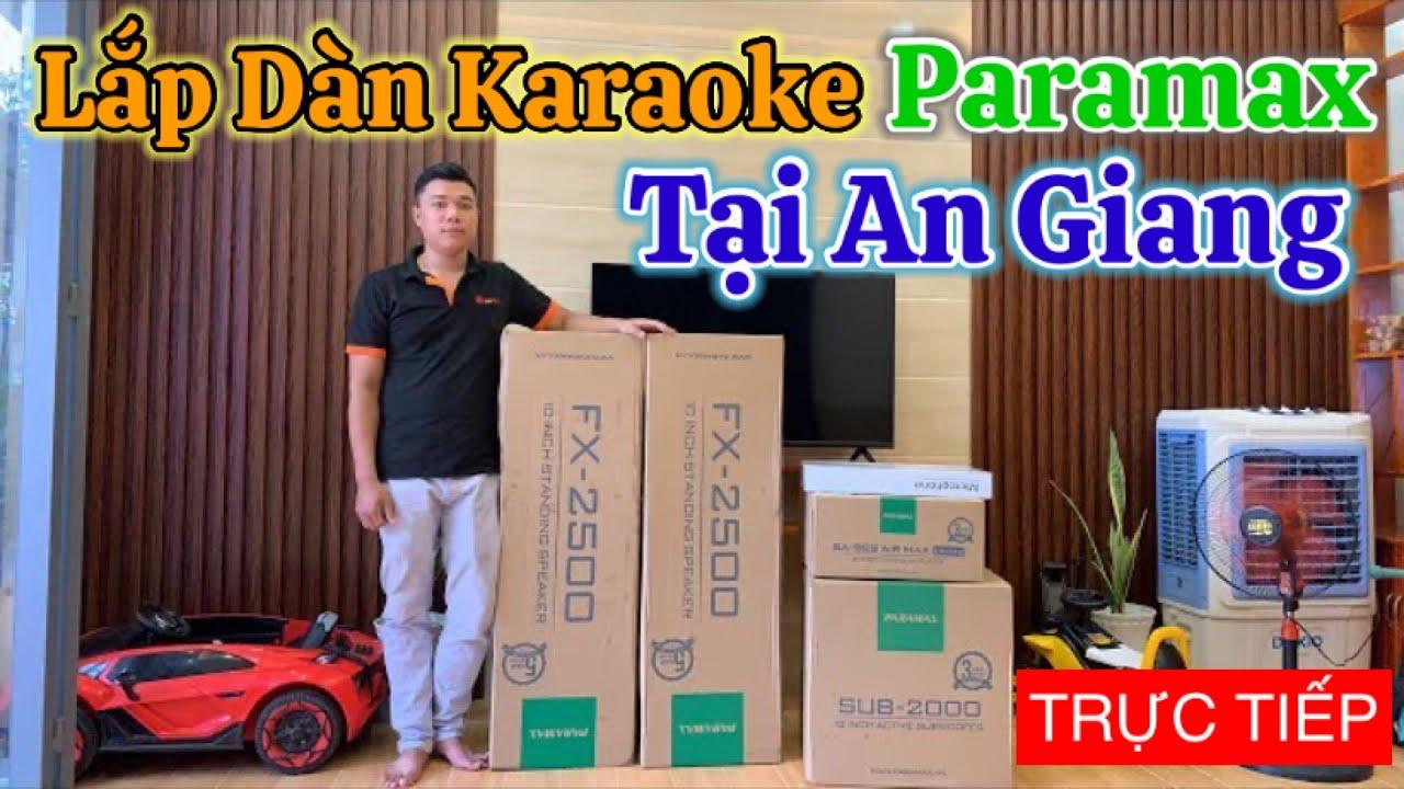 Video lắp đặt bộ dàn karaoke paramax sử dụng amply Paramax SA-999 AIR MAX Limited