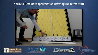 You're a Hero Here Employee Drawing April 17