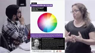 Se impartió Taller de Corrección de Color en el GECU