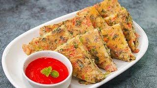 Bread Omelette Recipe | Easy Breakfast Recipe |  Snack Recipe | Toasted