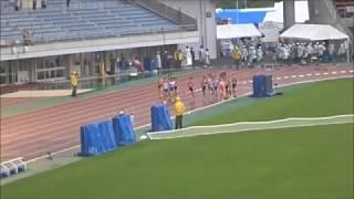 えひめ国体・陸上競技/成年女子5000m決勝、1着:木村友香(福岡)15分33秒14