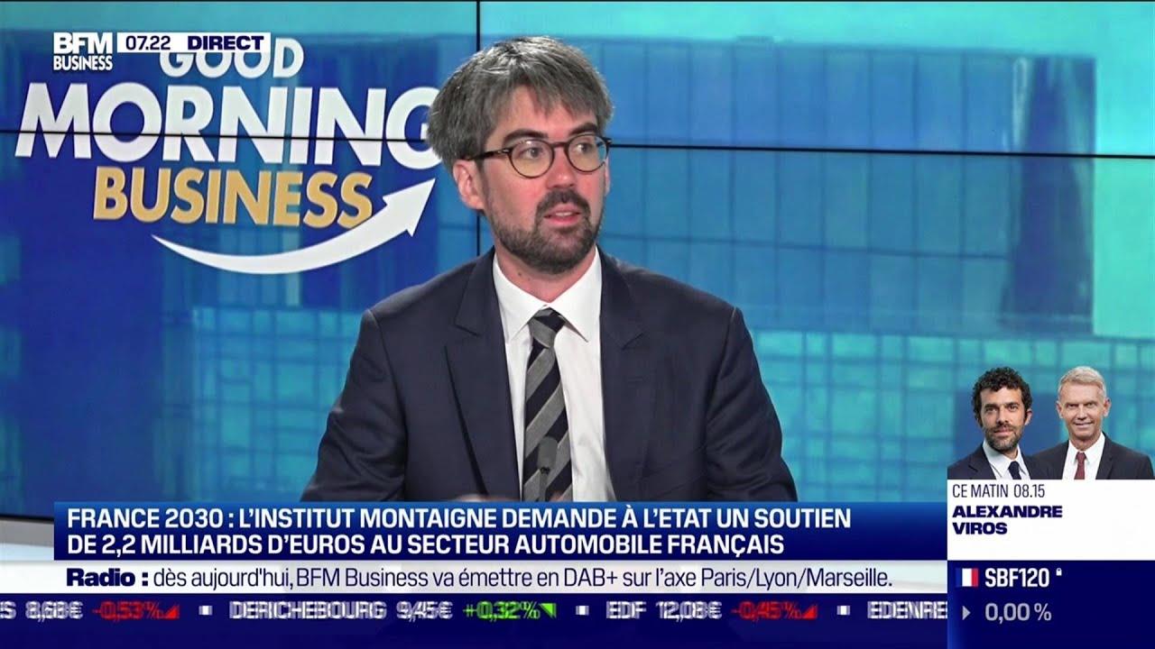 Aloïs Kirchner (Institut Montaigne): Comment relancer le secteur automobile français ?