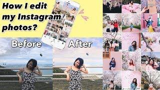 How I edit my IG photos | IG 照片如何调色排版