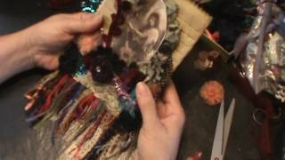 Gypsy Fabric Book/ Journal - Tutorial - DIY - Page 6 Part 3