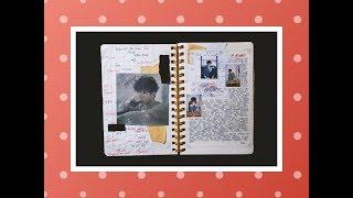 BANG YONGGUK   DIARY l Оформление личного дневника