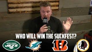 Pat McAfee on Who Will Win NFL SuckFest