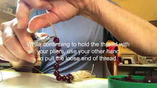 How To Make Perfect Knots For Malas And Other Hand-Knotted Jewelry