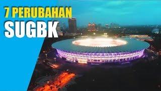 MEGAH!!! Inilah 7 Perubahan Stadion Utama Gelora Bung Karno (SUGBK)