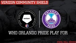Orlando Pride Verizon Community Shield Partner