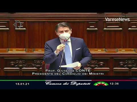 """Conte chiede la fiducia in Parlamento: """"Crisi incomprensibile"""""""