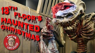 13th Floor: Haunted Christmas - Lights on Walkthrough and Scarying People