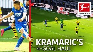 Andrej Kramaric - Four Goals vs. Dortmund   No-Look Penalty and Long Range Stunner