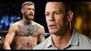 Conor Mcgregor take John Cena head clean off