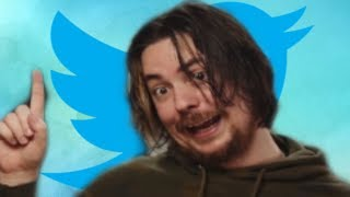 Twitter VS Egoraptor (Arin From Game Grumps)