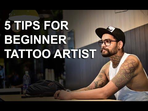 5 TIPS FOR BEGINNER TATTOO ARTIST | Tattoo tutorial Part - 18