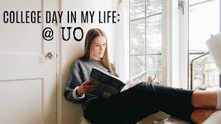 VLOG: A DAY IN MY LIFE AS A UNIVERSITY OF OREGON STUDENT!
