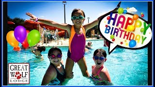 Bella's 8th BIRTHDAY PARTY At The Great Wolf Lodge!!