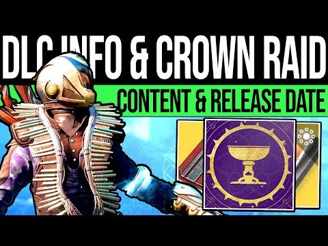 Destiny 2 | NEW DLC REVEAL & CROWN OF SORROW! Release Date, New Raid, Power Changes & Season 7!