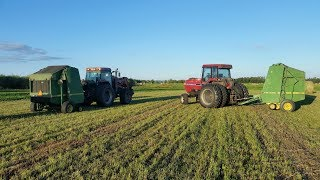 Bearing Failed inthe John Deere 535 Baler - YouTube