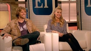 Meet TV's 'It' Couple Eric Christian Olsen & Sarah (Entertainment Tonight) (2015)