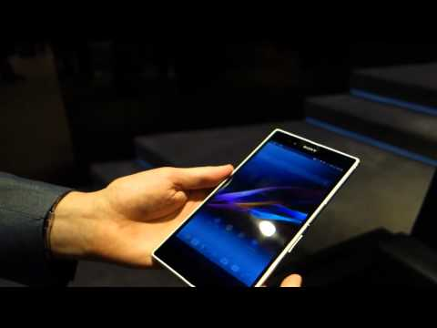 Sony Xperia Z Ultra hands-on