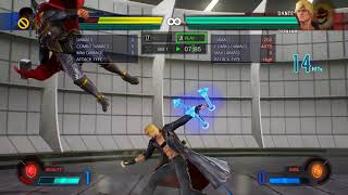 Marvel vs Capcom Infinite Dante solo combo 1 bar 7K dmg