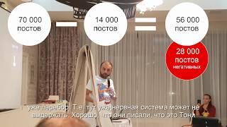 Григорий Аветов о негативе после выступления Тони Роббинса в Москве   NRG