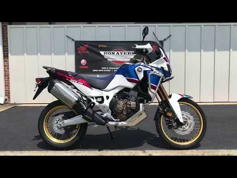 2018 Honda Africa Twin Adventure Sports DCT in Greenville, North Carolina - Video 1